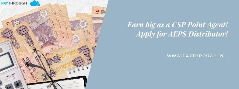 Earn Big As A CSP Point Agent Apply For AEPS Distributor